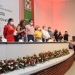 Toma protesta Irma Moreno como dirigente DE ONMPRI en Sinaloa